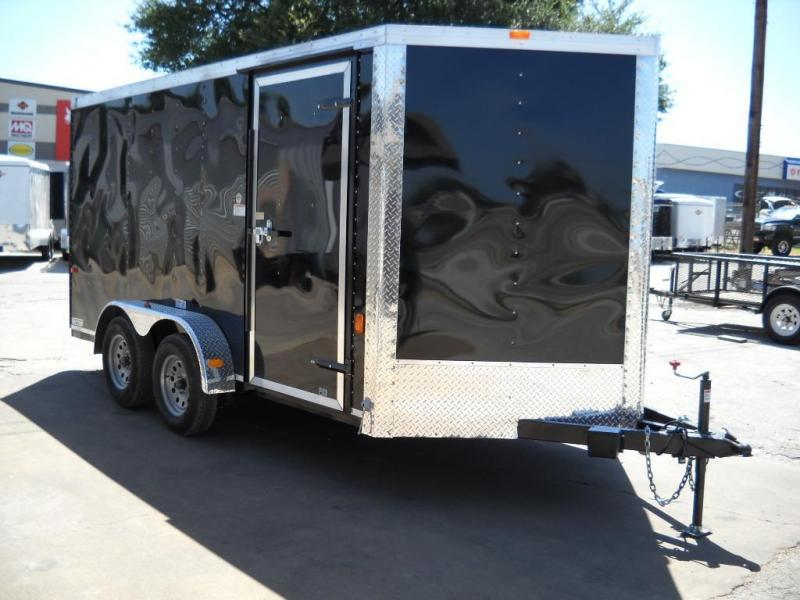 2015 Cargo Craft Vector 7x17 Cargo / Enclosed Trailer