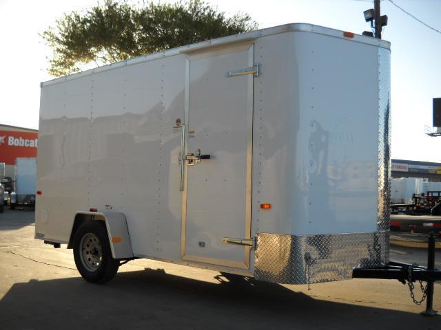 2016 Cargo Craft EV6141 Enclosed Cargo Trailer