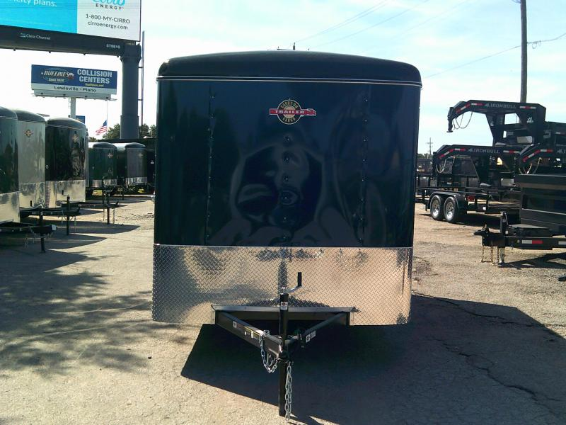 2019 Carry-On 7X12 W/ REAR RAMP Enclosed Cargo Trailer