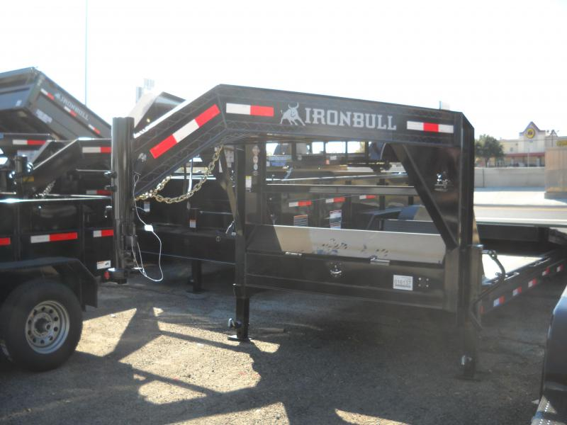 2018 Iron Bull TLG8324072_Low Pro Tilt Trailer
