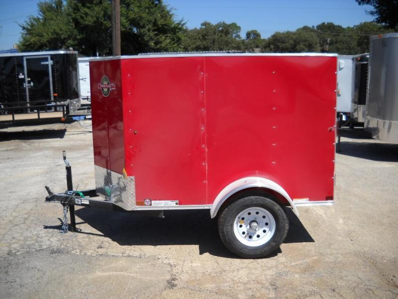 2015 Carry-On 4X6CGVEC-13 Cargo / Enclosed Trailer