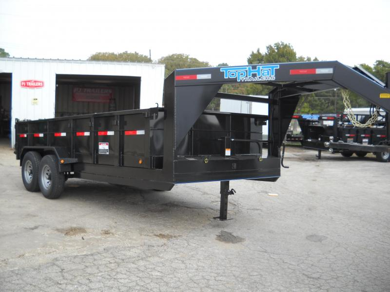 2018 Top Hat GN Dump Trailer 14x7 FT 14K