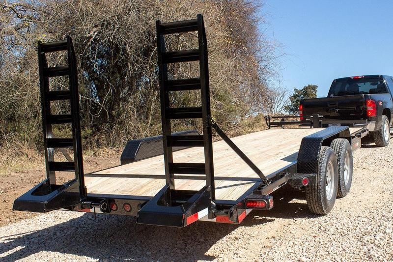 2019 Iron Bull 18x83 Equipment Trailer 14000 GVRW