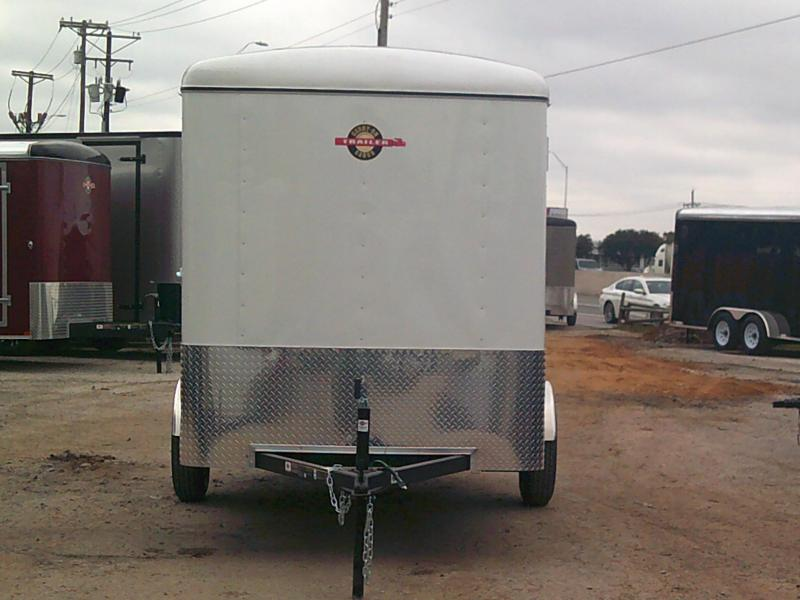 2019 Carry-On 6X12 W/ RAER RAMP Enclosed Cargo Trailer
