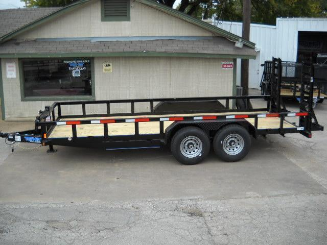 2019 7X16 Top Hat Trailer (14000 GVWR) HEAVY DUTY Equipment Trailer