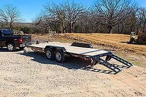 2019 Iron Bull ETB8318052  MD Equipment Trailer
