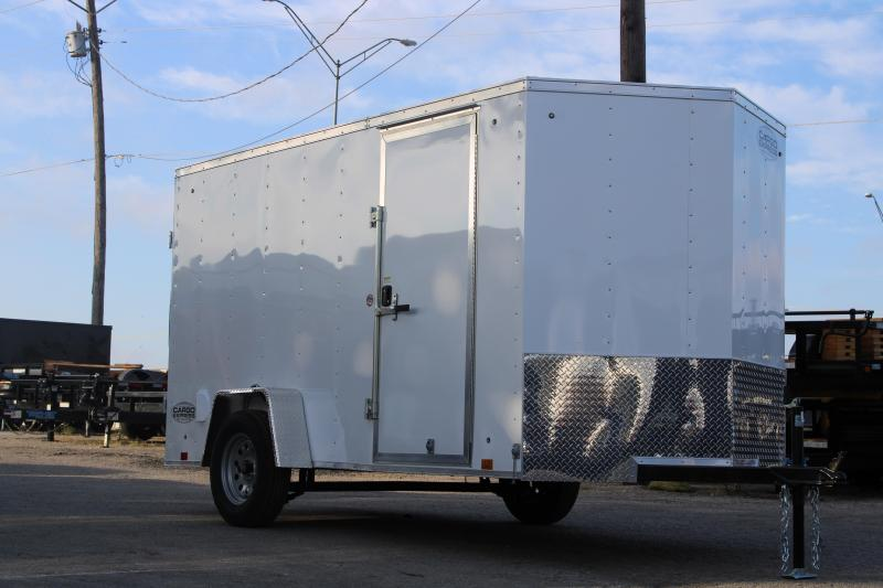 2020 Cargo Express 6X12 Enclosed Cargo Trailer W/ Barn Doors
