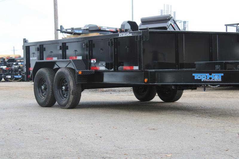2020 Top Hat Trailers DPX140-14X83-14E-F Dump Trailer