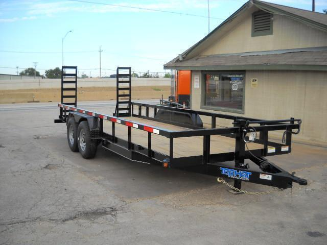 2019 7X18 HEAVY DUTY Top Hat Trailer (14000 GVWR) Equipment Trailer