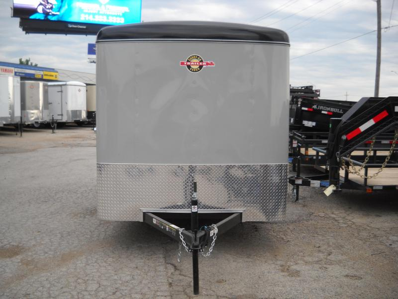 2018 Carry-On 7X12 Single Axle Enclosed Cargo Trailer