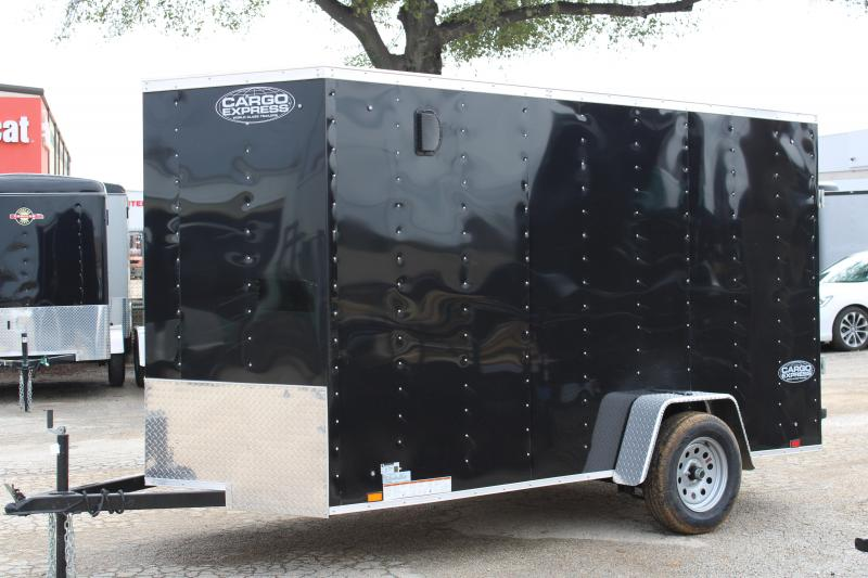 2021 Cargo Express 6X12 Enclosed Cargo Trailer W/ Rear Ramp
