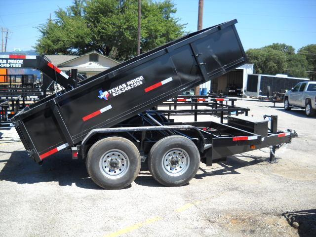 2016 Texas Pride Trailers DT71214KBP Dump Trailer