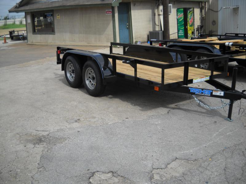 2018 Top Hat 5X10 Tandem Axle Utility Trailer