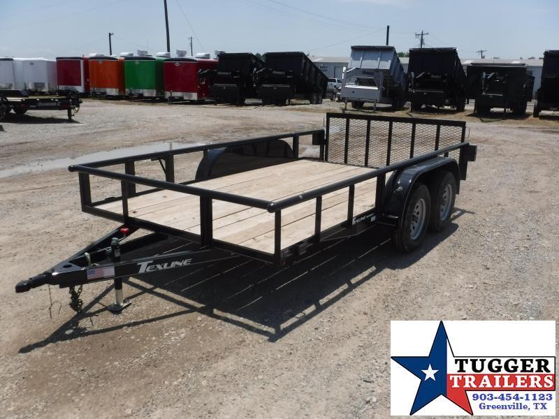 2018 TexLine 83 x 14 Texline Equipment Trailer