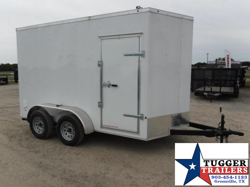 2017 Salvation Trailers 7 x 12 TA Elite Enclosed Cargo Trailer