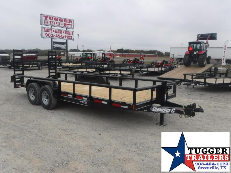 2018 Diamond C Trailers 82 x 20 TA RHD Equipment Trailer