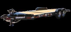 2019 Diamond C Trailers 82x20 20ft HDT207 Titl Flatbed Trailer