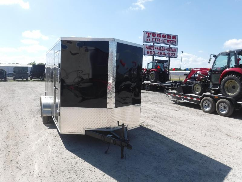 2019 T-Series 7 x 16 Cargo Trailer Enclosed Cargo Trailers