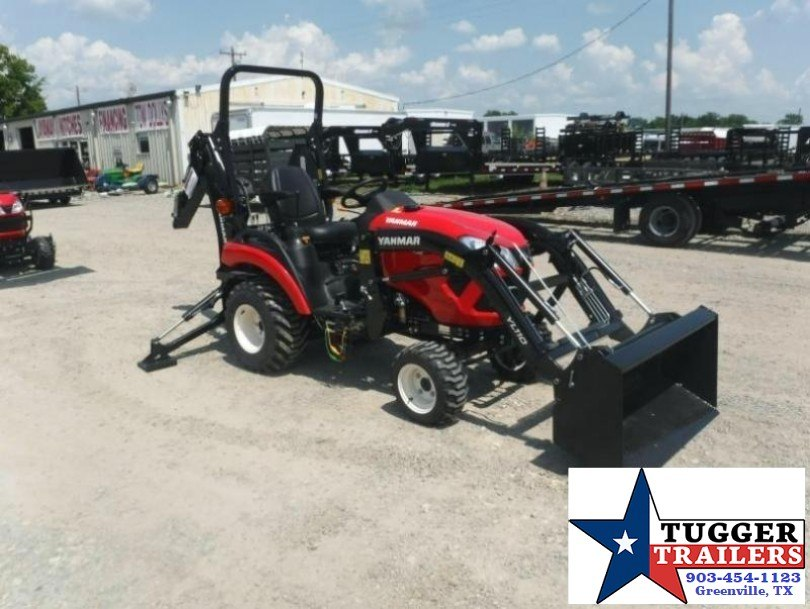 $275.00wac$ 2017 Yanmar USA SA221 TLB  21HP Package w/ Trailer
