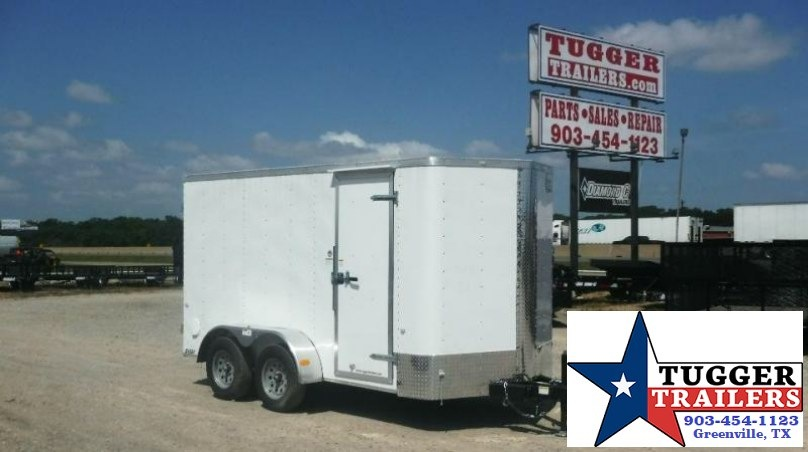 2017 Salvation Trailers 6 x 12 TA Elite Enclosed Cargo Trailer