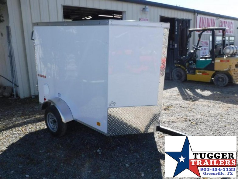 2018 Cargo Mate 4x6 E-Series Enclosed Cargo Trailer