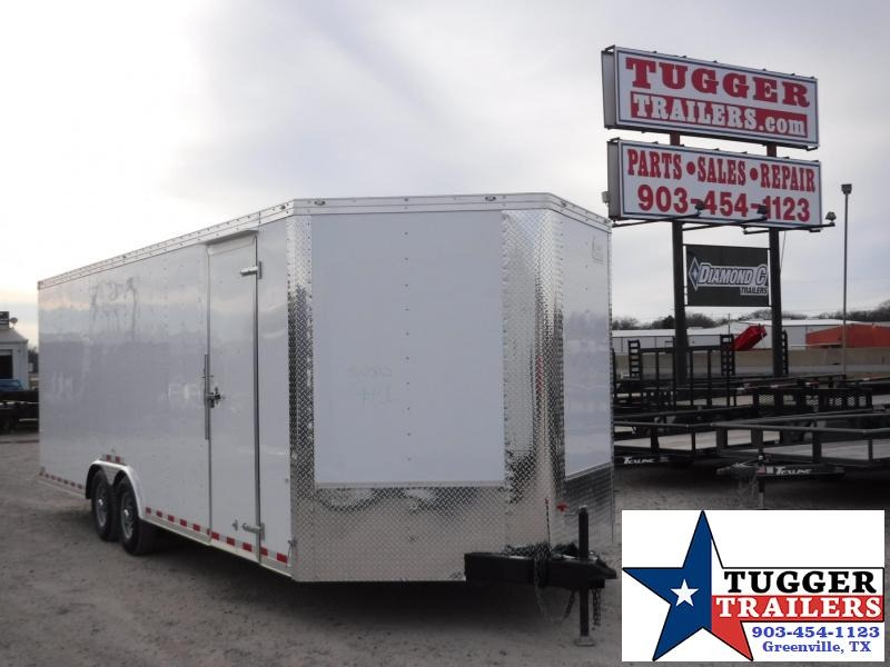 2017 Cargo Craft 8.5 x 24 Dragster V-nose Enclosed Cargo Trailer