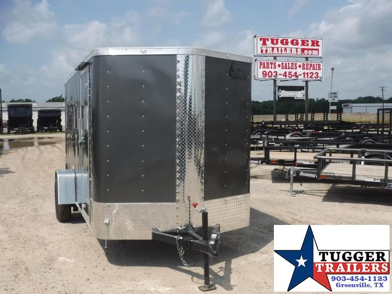 2019 Cargo Craft 6x12 12ft Elite Plus 2 V-Nose Ramp Enclosed Cargo Trailer
