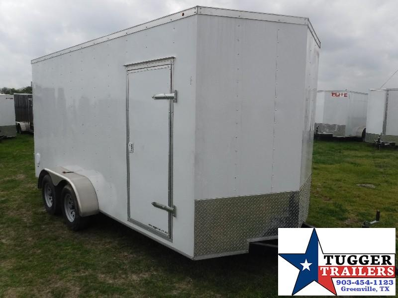 2018 Salvation Trailers 7 x 16 Elite V-Nose Enclosed Cargo Trailer