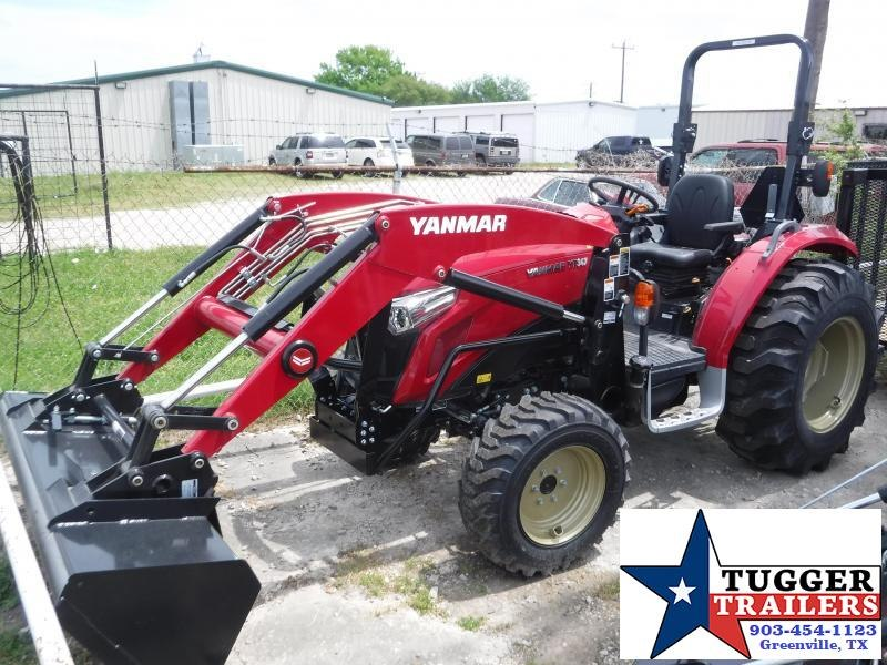 2018 Yanmar USA YT 347 Tractor and Loader!