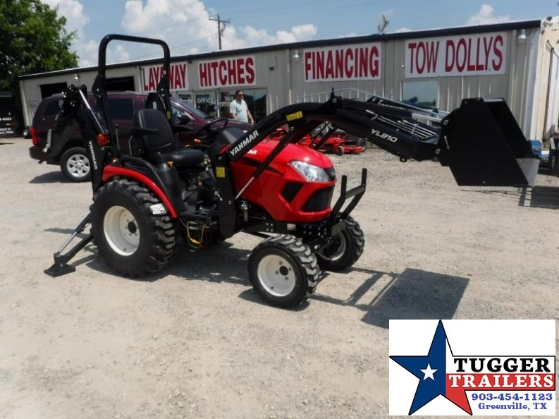 2017 Yanmar USA 24HP  SA424 TLB Loader Backhoe Tractor $298/month WAC