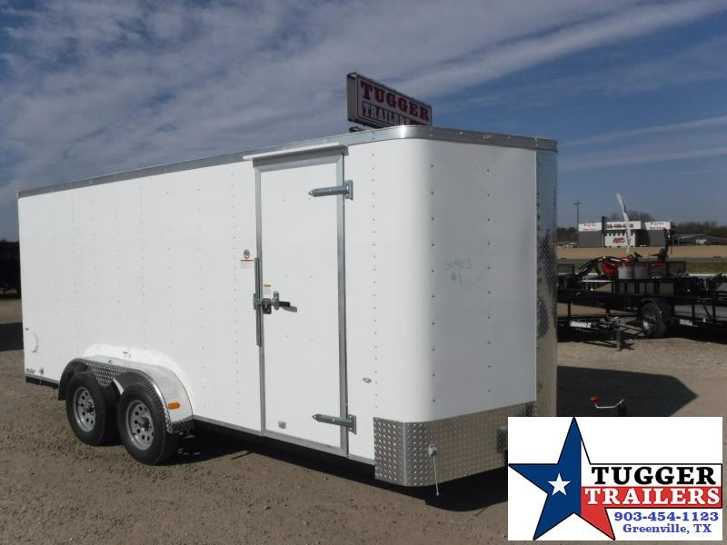 2017 Cargo Craft 7 x 16 Elite-V TA Enclosed Cargo Trailer