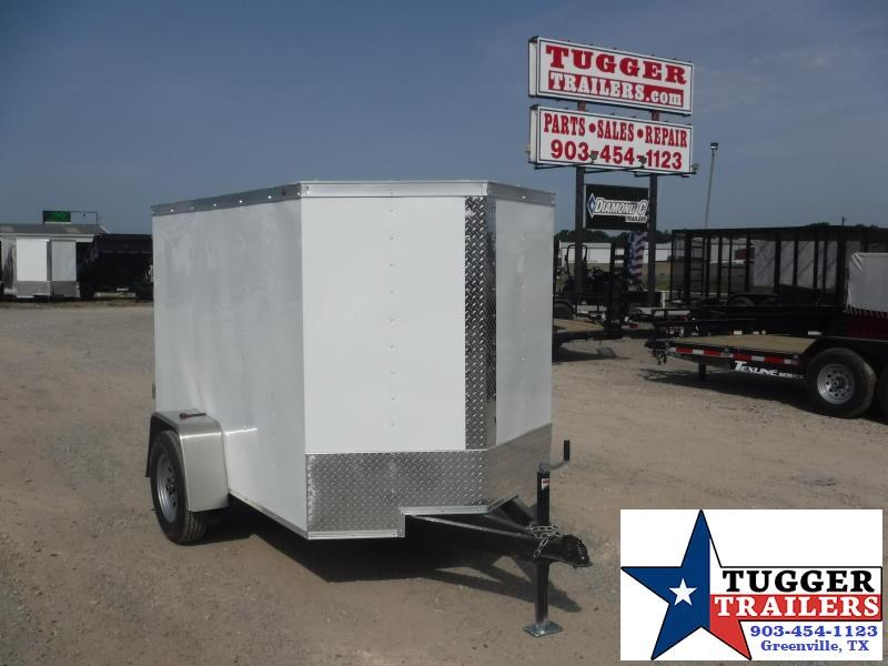 2019 T-Series 5 x 8 Cargo Enclosed Cargo Trailer