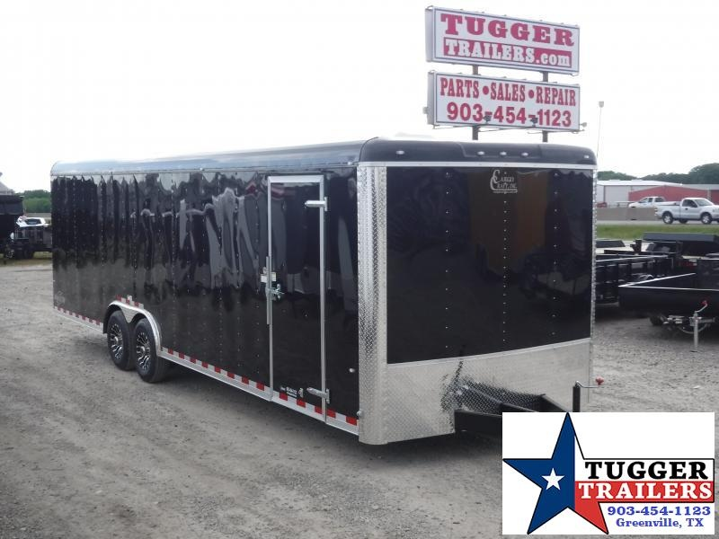 2018 Cargo Craft 8.5 x 28 TA Dragster Enclosed Cargo Trailer