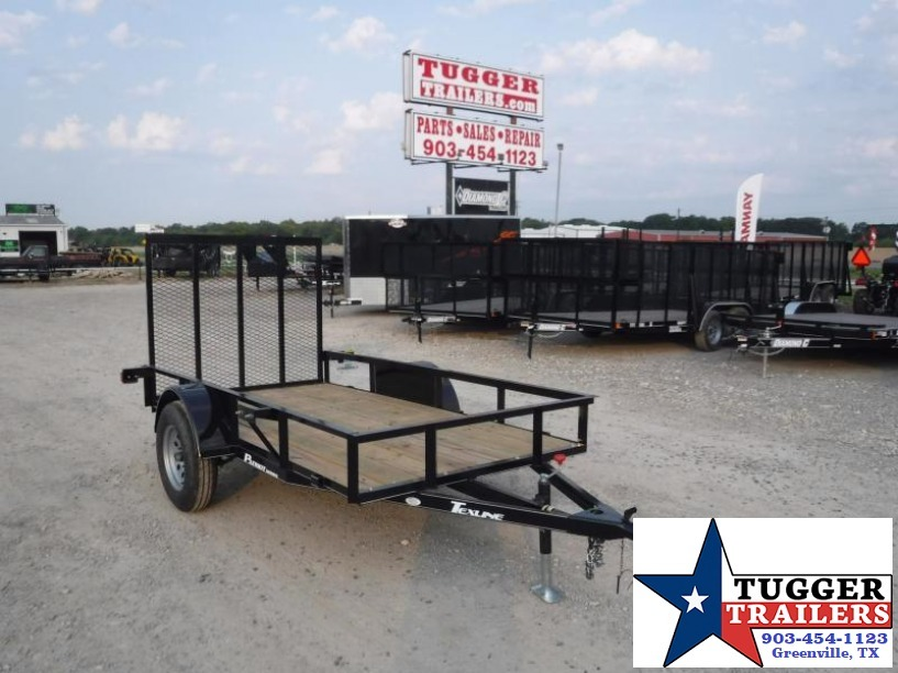 2017 TexLine 5X10 Patriot Utility Trailer