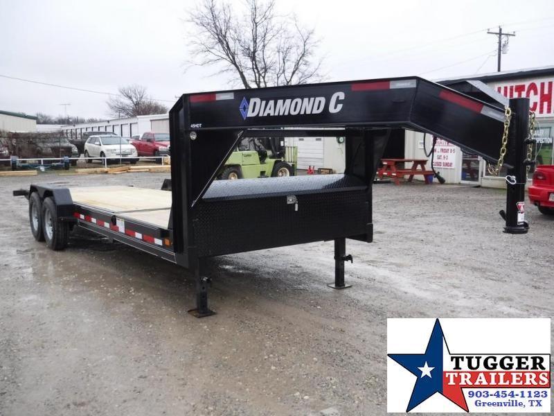 2018 Diamond C Trailers 82x24 45HDT Goodeneck Tilt Equipment Trailer