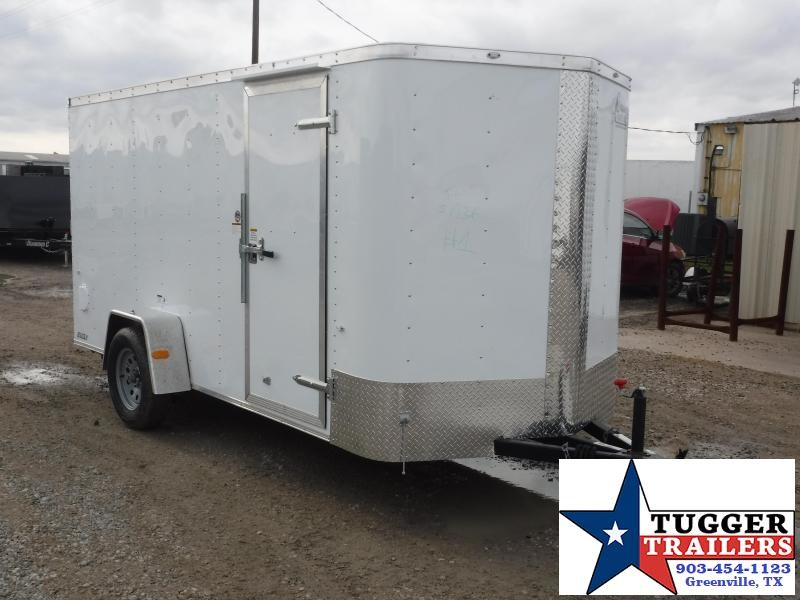 2017 Cargo Craft 6 x 12 Elite-V Enclosed Cargo Trailer