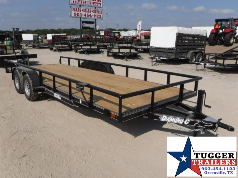 2017 Diamond C Trailers 83in x 20ft 6GT Utility Trailer