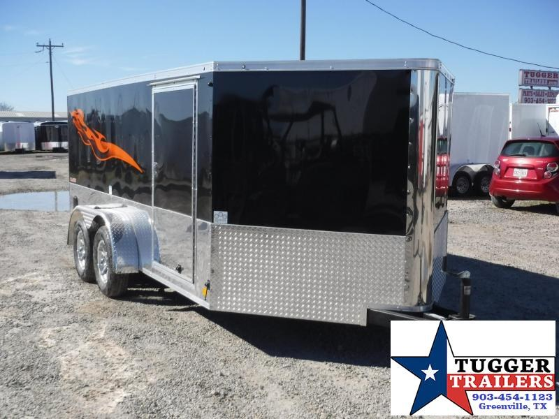 2018 Cargo Mate 7 x 14 Blazer Motorcycle Hauler Enclosed Cargo Trailer