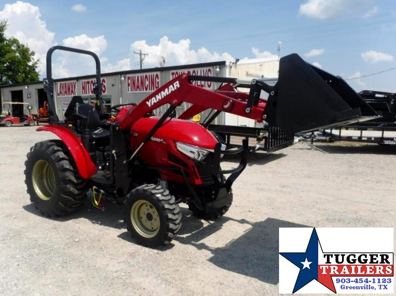 2017 Yanmar USA 35HP  YT235 TL Loader Tractor $342/month WAC