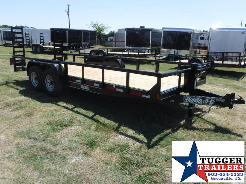 2017 Diamond C Trailers 82 x 20 RHD20 Equipment Trailer