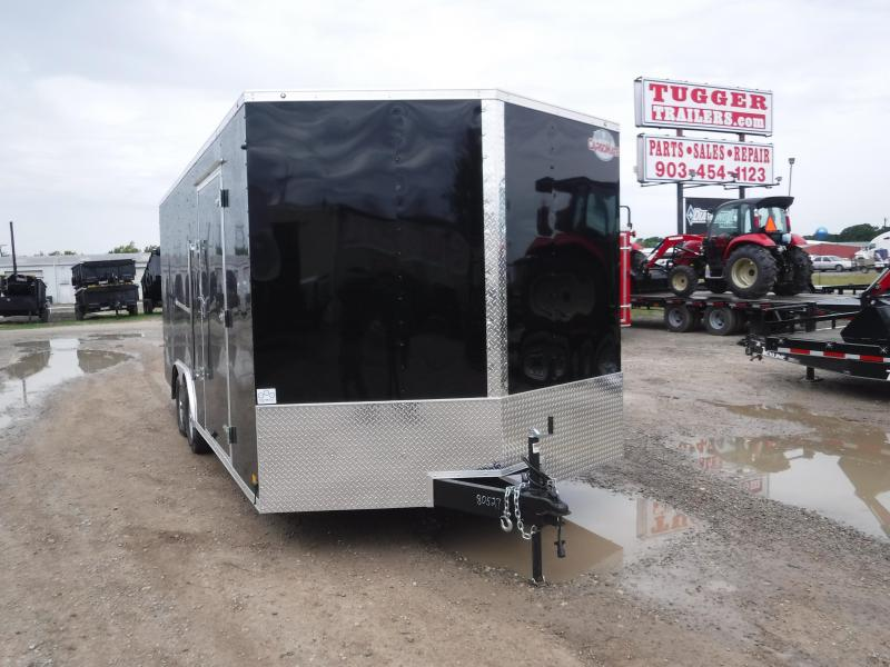 2019 Cargo Mate 8.5x20 Car Hauler Trailer Enclosed Cargo Trailers