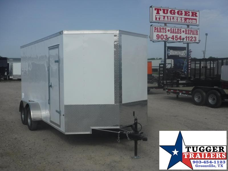 2019 T-Series 7 x 16 Cargo Trailer Enclosed Cargo Trailer