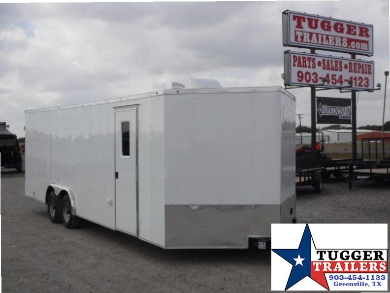 2018 Salvation Trailers 8.5x20 Conttactor Enclosed Cargo Trailer
