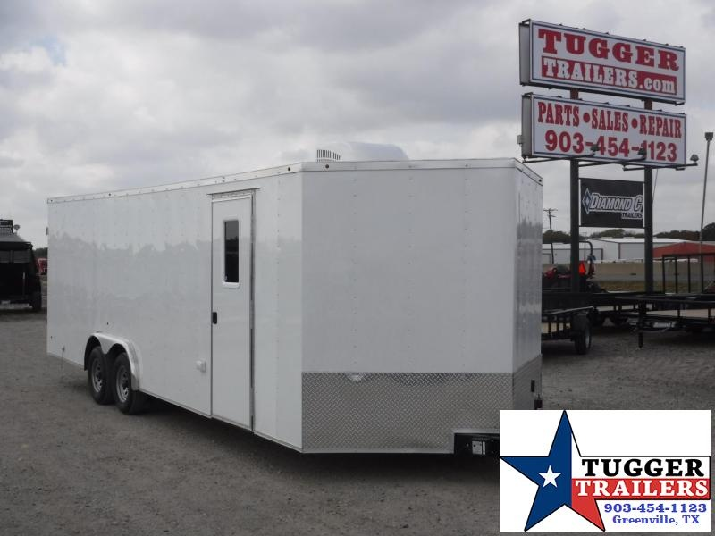 2018 Salvation Trailers 8.5x24 Conttactor Enclosed Cargo Trailer