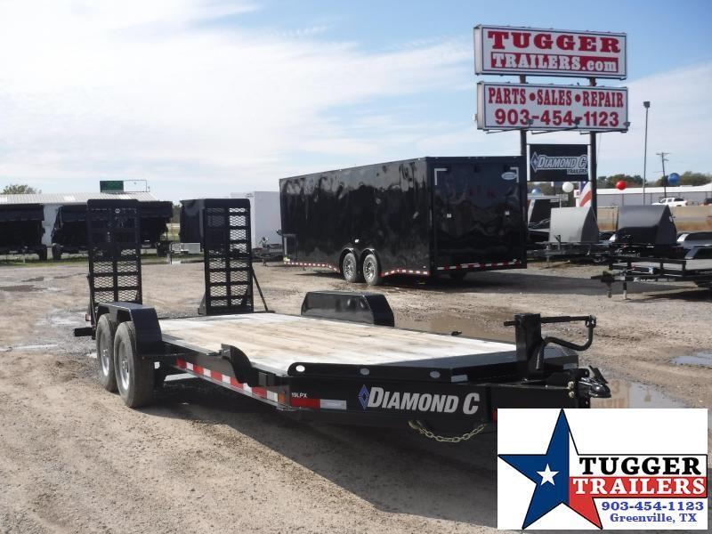 2018 Diamond C Trailer 82 x 20 19LPX Equipment Trailers