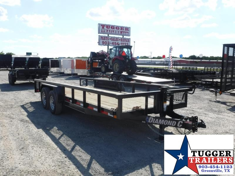2018 Diamond C Trailers 82 x 20 RHD Equipment Trailer