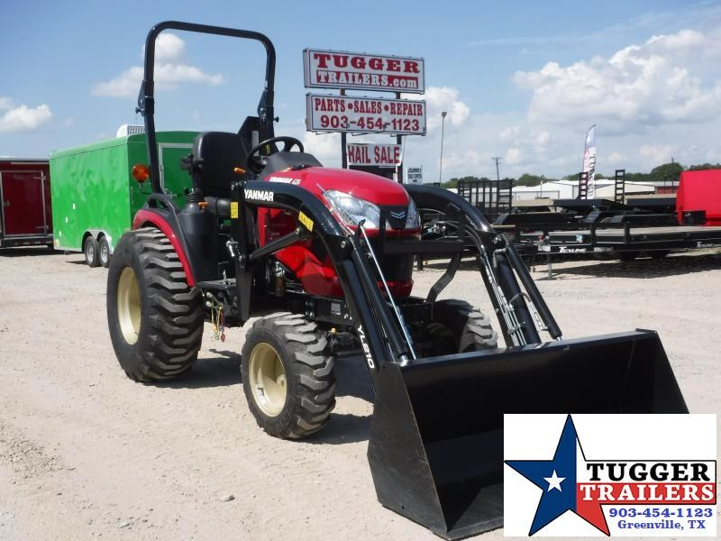 2019 Yanmar SA 424 DIESEL Tractor With Loader