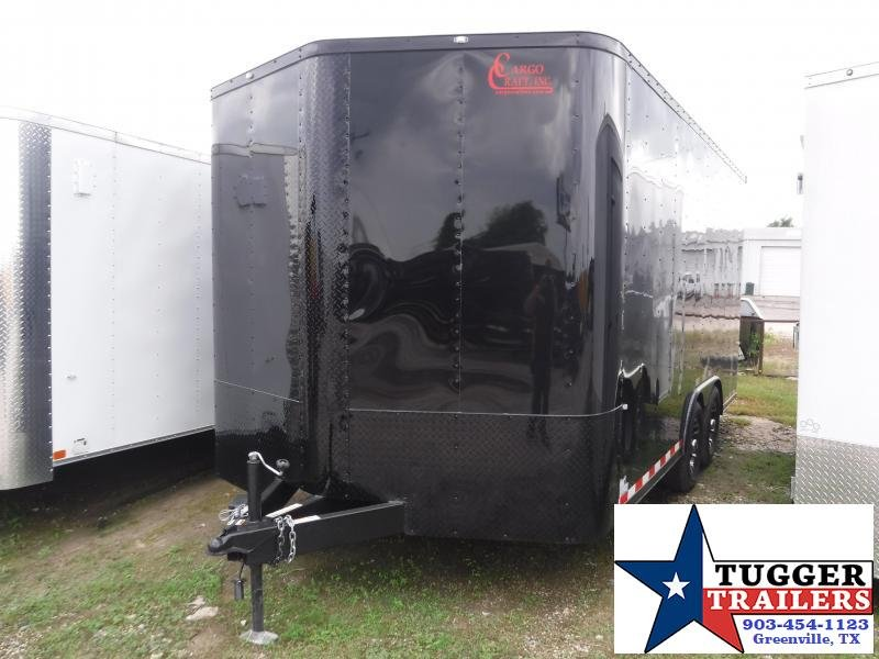 2019 Cargo Craft 8.5x16 16ft Auto Enclosed Cargo Black-Out Car / Racing Trailer