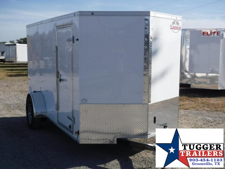 2018 Cargo Mate 6x12 E-Series Enclosed Cargo Trailer