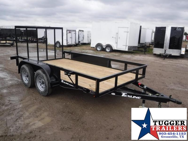 2018 TexLine 77x12' TA Utility Trailer